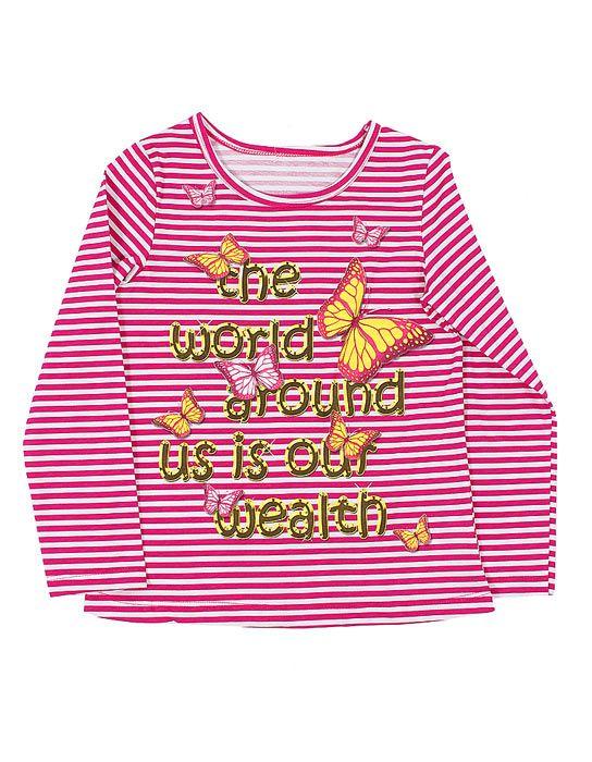 Блуза для девочки Мои бабочки