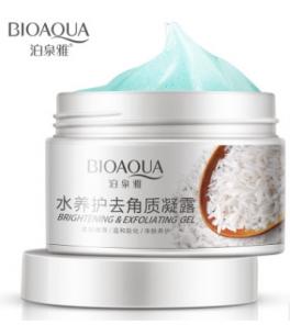 Очищающий рисовый гелевый скраб «BIOAQUA».(7519)