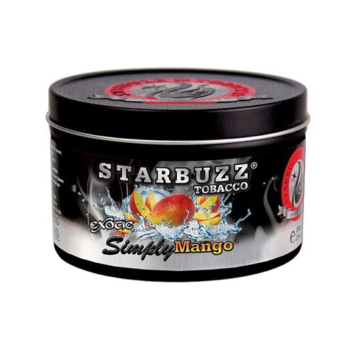Табак для кальяна Starbuzz - BOLD Simply Mango (Просто манго)