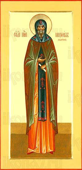 Михаил Малеин (мерная икона)
