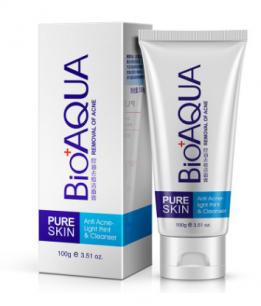 Пенка для умывания «BIOAQUA» Анти-акне (для проблемной кожи).(0702)