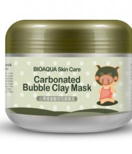 Очищающая пузырьковая маска «BIOAQUA» Carbonated Bubbled Clay Mask.(0511)