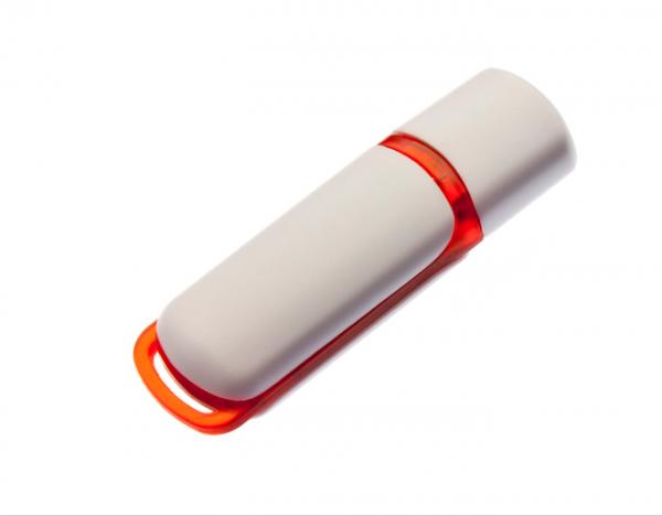 4GB USB-флэш корпус для флешки UsbSouvenir 235, белая-красная
