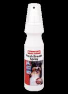 Beaphar Fresh Breath Спрей для чистки зубов и освежения дыхания у собак (150 мл)