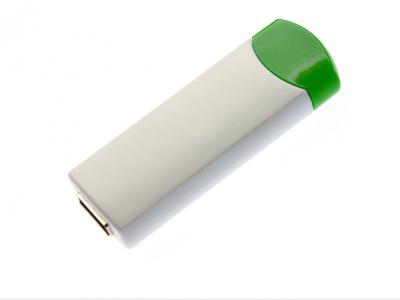 8GB USB-флэш накопитель UsbSouvenir ROTATE-A, белая-зеленая