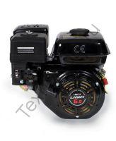 Lifan 168FD D20 (6.5 л. с.) с катушкой освещения 7Ампер (84Вт) четырехтактный бензиновый двигатель в  комплектации ручным и электрическим стартом, мощностью 6.5 л. с., и диаметром выходного вала 20 мм.