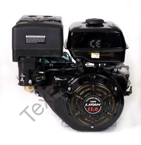 Двигатель Lifan 182FD D25 (11 л. с.) с катушкой освещения 7Ампер (84Вт)