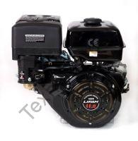 Lifan 182FD D29 (11 л. с.) с катушкой освещения 7Ампер (84Вт) четырехтактный бензиновый двигатель, мощностью 11 л. с., и диаметром выходного вала 25 мм. Возможность подключения выпрямителя тока мощностью 10. Комплектуется ручным и электрическим стартом.