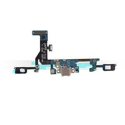 Шлейф с разъемом зарядки для Samsung Galaxy S7 G930F + сенсорные кнопки + нижняя плата (копия AAA)