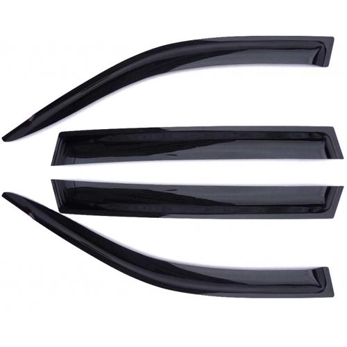 Дефлекторы на боковые стекла AZARD ВАЗ 2107 /НАКЛАДНЫЕ/ скотч /к-т 4 шт./