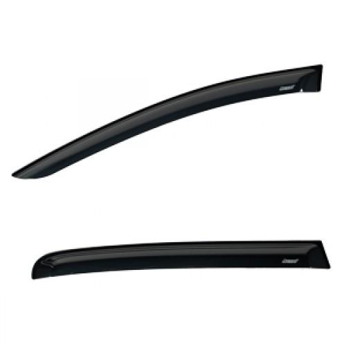 Дефлекторы на боковые стекла Voron Glass серия CORSAR  FIAT DUCATO II 2002-2012/фургон/накладные/скотч/к-т 2шт./