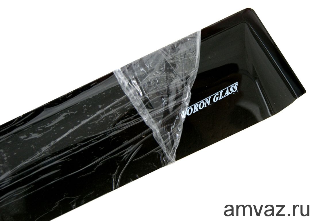 Дефлекторы на боковые стекла Voron Glass серия CORSAR Mazda 3 II (BL) 2009-2013/хетчбек/накладные/скотч /к-т 4 шт./