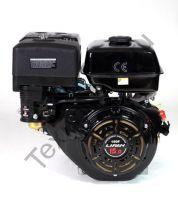 Lifan 190FD D25 (15 л. с.) с катушкой освещения 18Ампер (216Вт) четырехтактный бензиновый двигатель, мощностью 15 л. с., и диаметром выходного вала 25 мм. Применяется для установки на мотобуксировщики, мотосани, вездеходы.