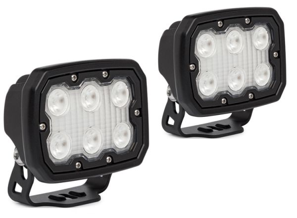 Комплект светодиодных фар рабочего света Prolight TREK: XIL-TREK660 black