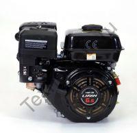 Lifan 168F-R D22 (6,5 л. с.) двигатель 4х тактный с редуктором и автоматическим сцеплением, одноцилиндровый, OHV, горизонтальный вал 22 мм, воздушное охлаждение., мощность 6,5 л. с. Двигатель укомплектован ручным стартером, датчиком давления масла.