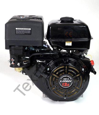 Двигатель Lifan 188F-R D22 (13 л. с.) с редуктором и катушкой освещения 7Ампер (84Вт)