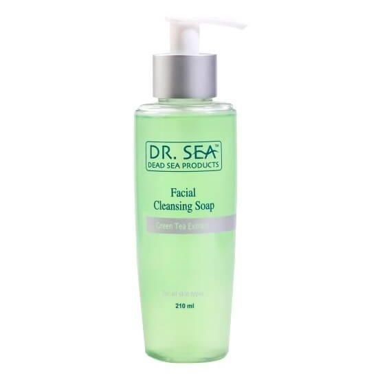 Мыло для глубокого очищения лица с экстрактом зеленого чая Dr.Sea (Доктор Си) 210 мл