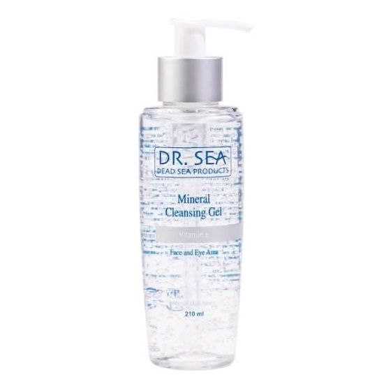 Минеральный очищающий гель для лица и глаз с витамином E – 3 в 1 Dr.Sea (Доктор Си) 210 мл