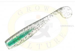 "Виброхвост Grows Culture B6LAB New Shiner 3"" 7,5 см/ упаковка 5 шт/ цвет: 001"