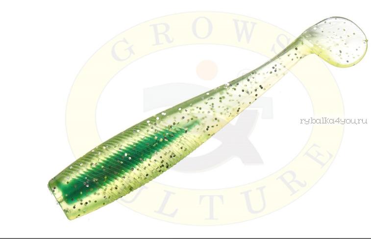 Купить Виброхвост Grows Culture B6LAB New Shiner 3 7,5 см/ упаковка 5 шт/ цвет: 008