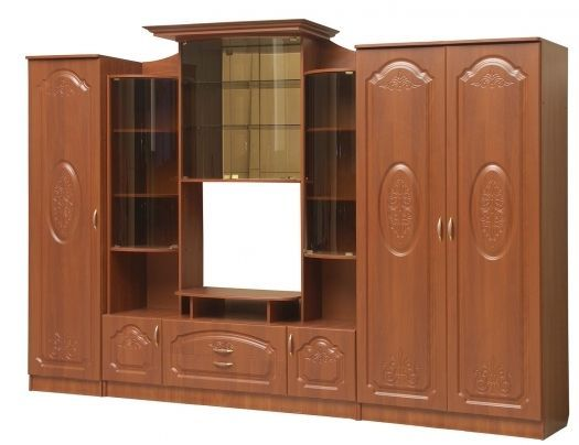 Гостиная Наполеон-10 ТВ1000 Комплектация №2