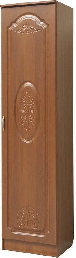 Шкаф 1 дверный со штангой (только правый)  Модуль 04, МДФ матовый