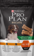Pro Plan Biscuits with Lamb Лакомство для собак с ягненком и рисом (400 г)