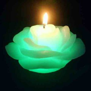 Свечка волшебная Цветок (меняет цвет)