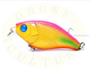 Воблер Grows Culture Chubby 38F 38мм/ 4 гр/заглубление: 0,6-1м/ цвет:Q24