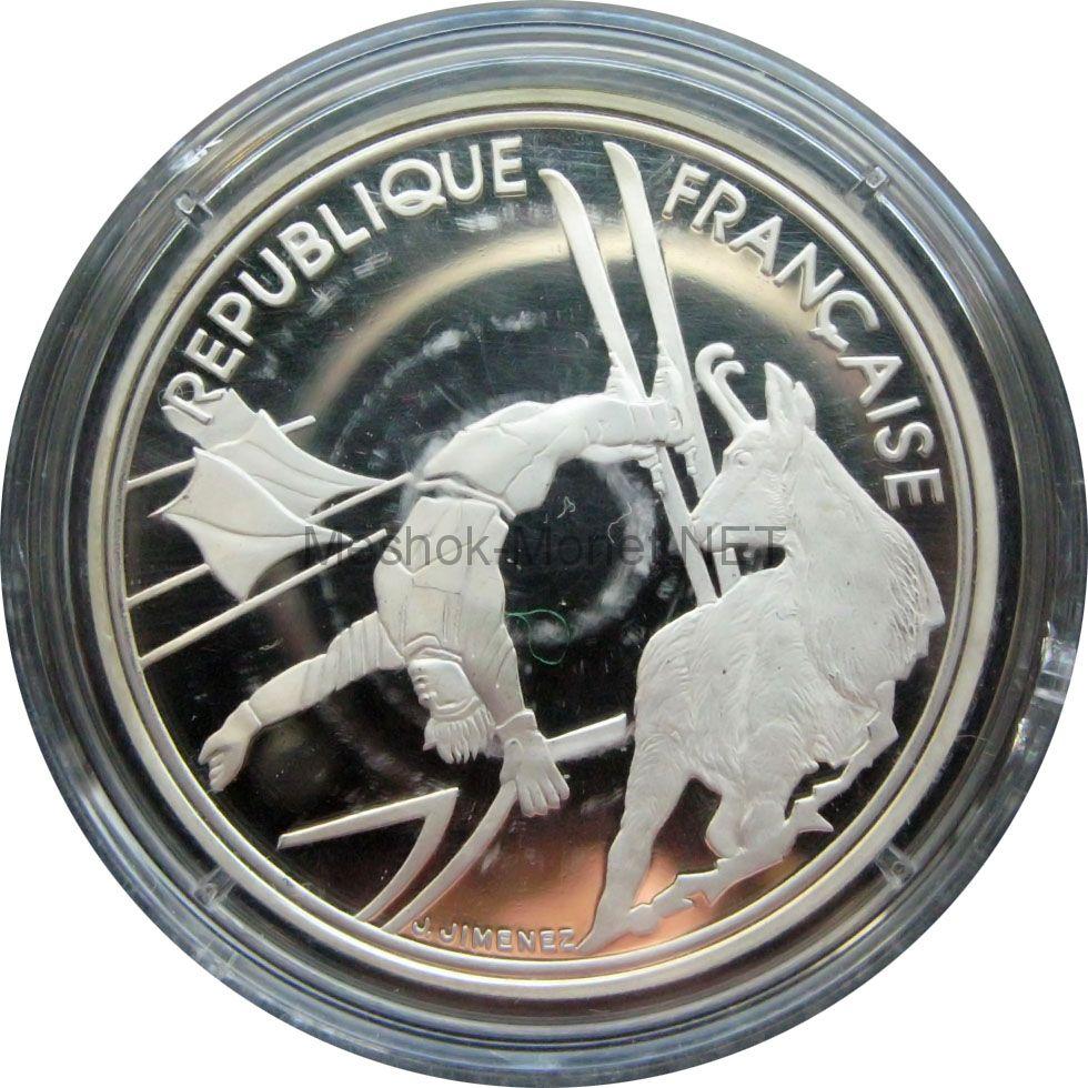 Франция 100 франков 1991 г. - Фристайл