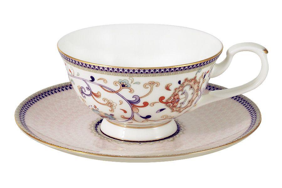 """Чайный набор на 1 персону """"Королева Анна"""", 2 пр., 0.2 л"""