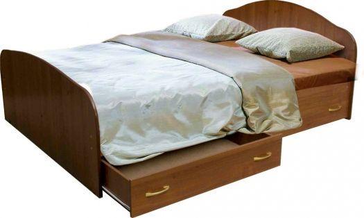 Кровать с 4-мя   ящиками на направляющих. Мария
