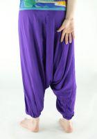 Купить яркие штаны алладины из вискозы