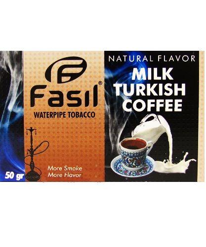 Табак для кальяна Fasil - Milk Turkish Coffe (Турецкий молочный кофе)