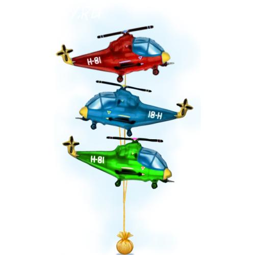 """Композиция """"Вертолетики"""""""