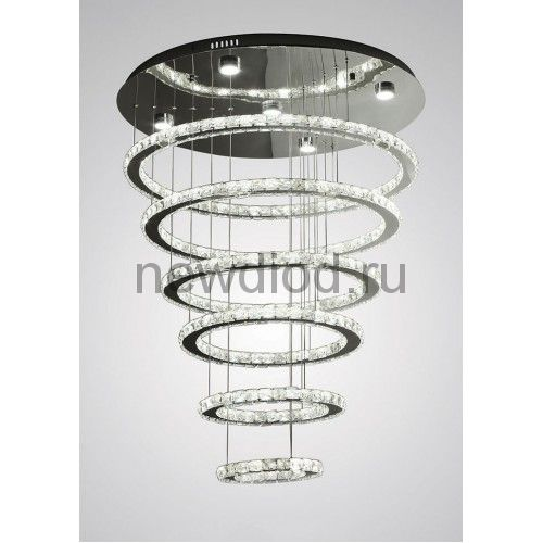 Хрустальная светодиодная люстра 220Вт DW-8701