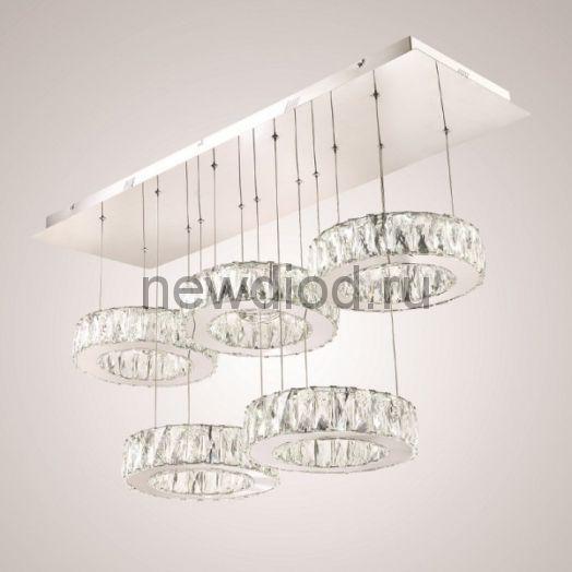Хрустальная светодиодная люстра 120 Вт DW-8815