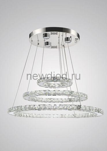 Хрустальная светодиодная люстра 100Вт DW-8746