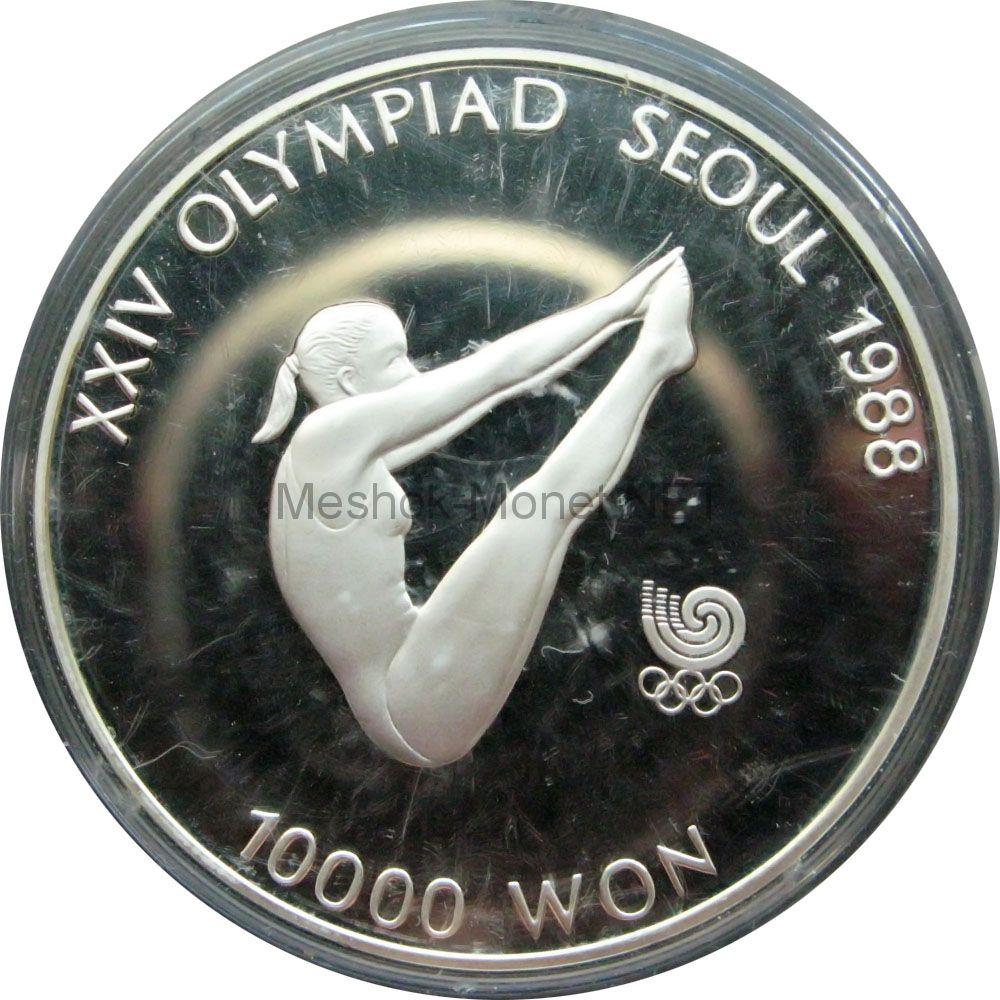 Южная Корея 10000 вон 1987 г. Прыжки в воду