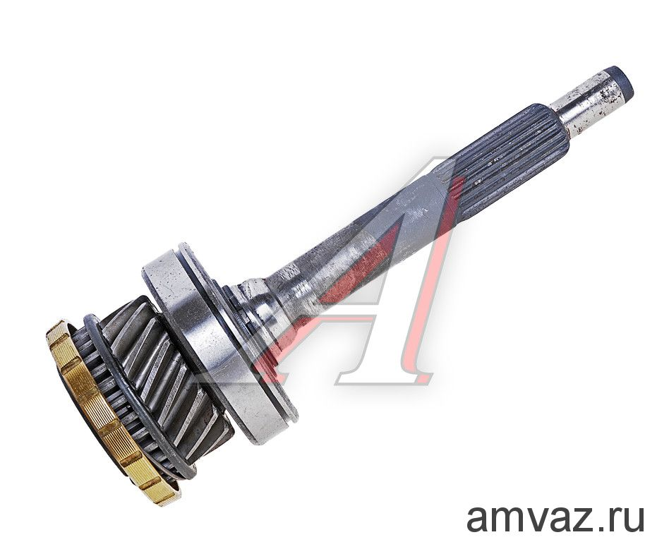 Вал КПП первичный 17-ти зуб. в сборе ВАЗ 2101
