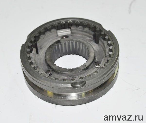Муфта КПП ВАЗ 2110-12 скользящая (синхронизатора) 1-2 передачи зубатка в сборе