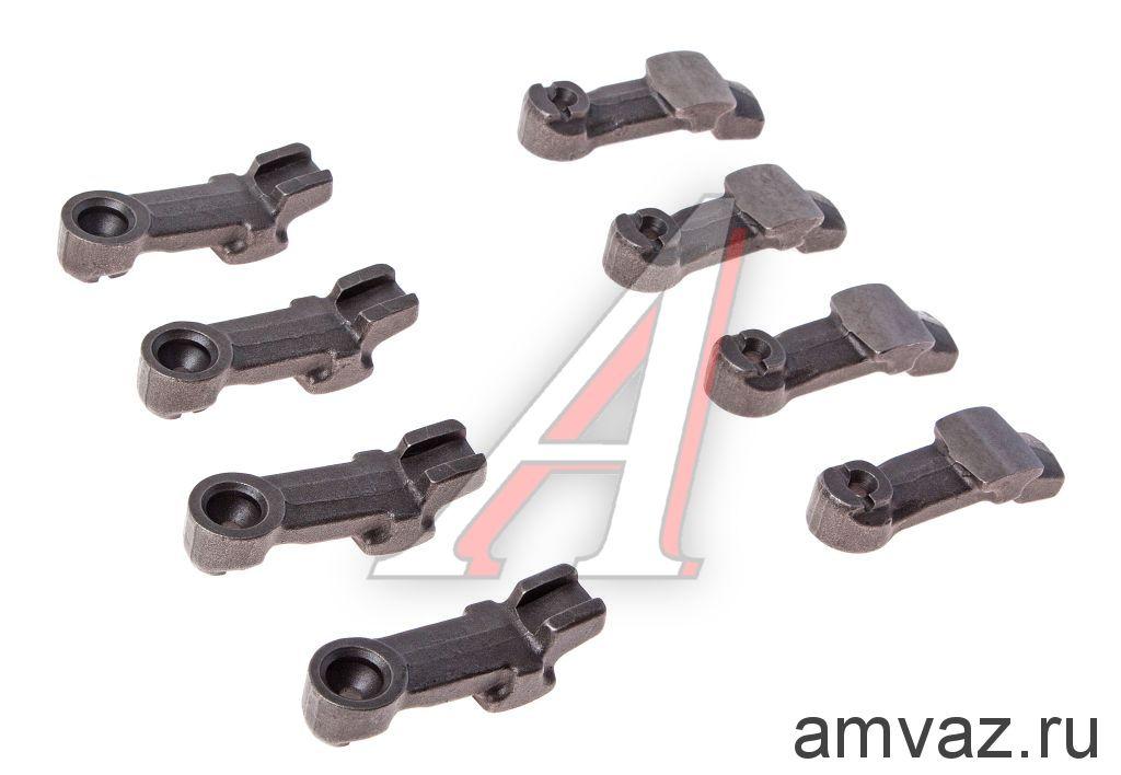 Рокера. Рычаг ВАЗ 2101 привода клапанов (к-т. 8 шт.) нового образца