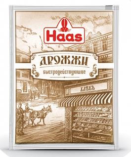 ХААС Дрожжи сухие пекарские 7 г