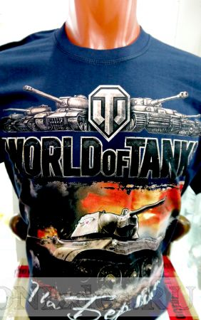 Футболка World of tanks: на Берлин