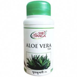 Алоэ вера Шри Ганга 60 таблеток / 500 мг.