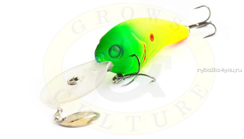 Воблер Grows Culture Jack 70F 70 мм/ 15 гр/заглубление: 1 - 6 м/ цвет: Q5  - купить со скидкой