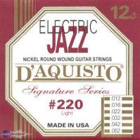 D'Aquisto #220 (12-52) Струны для электрогитары