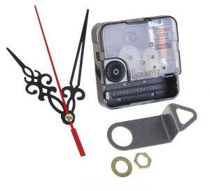 `Набор: часовой механизм с подвесом, резьба 16 мм, тихий ход + комплект стрелок