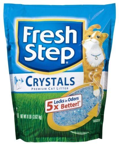 Фреш Степ Crystals Наполнитель силикагелевый 3,62кг