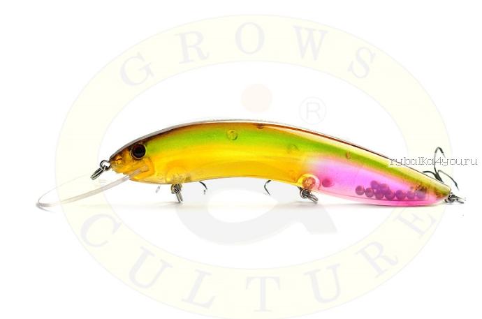 Купить Воблер Grows Culture Flathead 120F 120 мм/ 13 гр/заглубление: 5+ м/ цвет: Q20